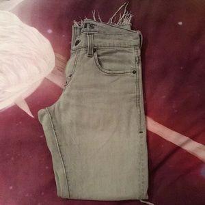 Levi's skinny jeans. 511